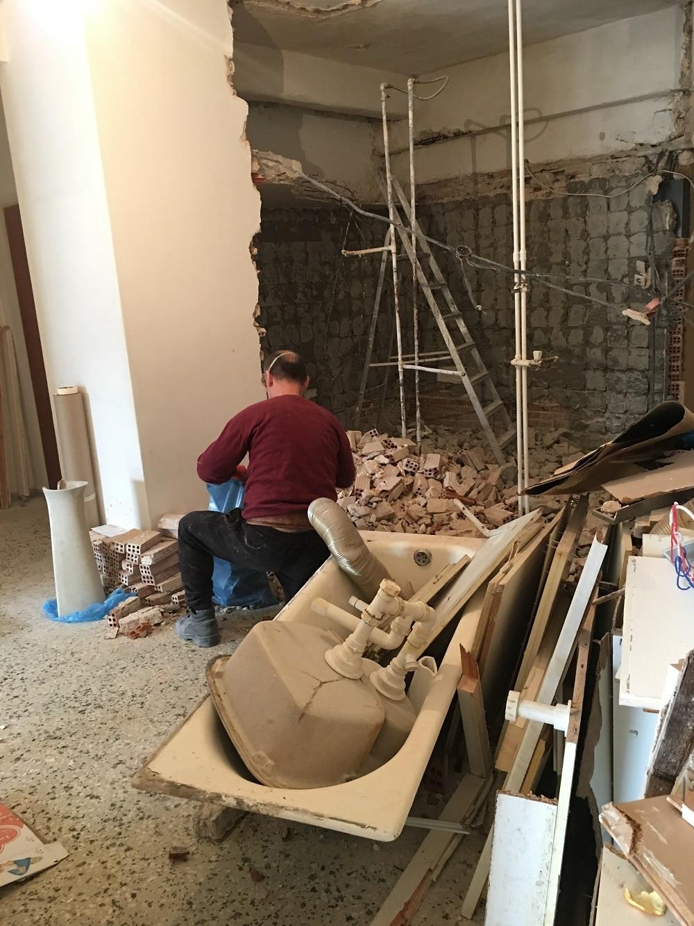 Ανακαίνιση σπιτιού στην Κυψέλη